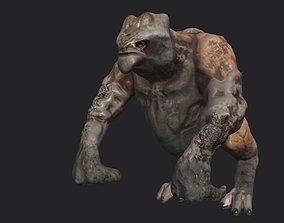 3D model monster ork