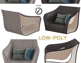 Split Chairs Alex Hull Split 3D asset