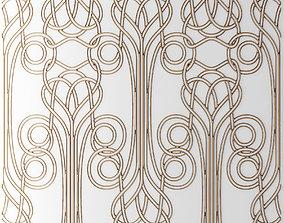 Panel lattice grille 3D 45