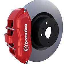 3D asset Brake System