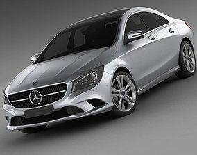 Mercedes CLA 2013 3D