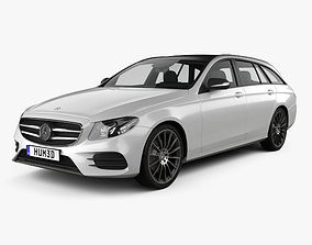 Mercedes-Benz E-Class S213 AMG Line estate 2016 3D