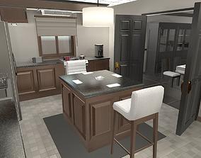 Customizable Furniture 3D asset