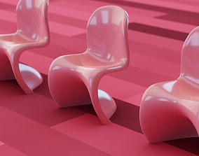 Panton Chair 3D model