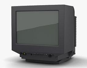 Generic CRT TV 3D model