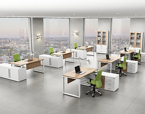 chair office interior 3D model