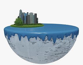 3D Green Peace Earth 05