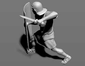Roman Legionnaire 3D printable model