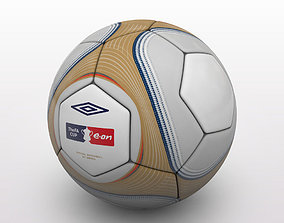 3D FA Cup Ball 2009 - Gold