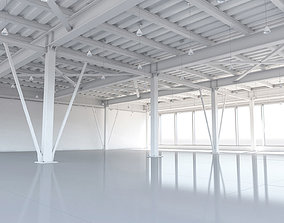 hangar 3D model Beam system