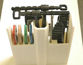 3D print model DMT Aligner Sharpener kit Case - 5