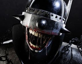rigged 3D The Batman who laughs - Game asset model