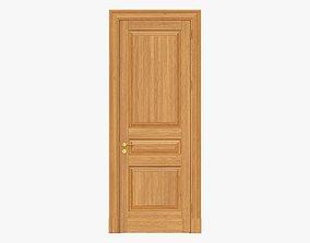 Door classic 09 3D model