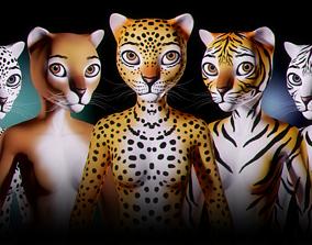 Fantasy Creature Isi-Agu - Female 3D asset