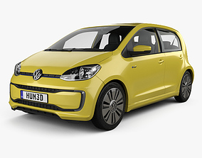 3D Volkswagen e-Up 5-door with HQ interior 2016