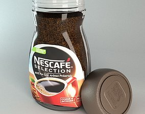 Nescafe Selection Coffee Container 3D