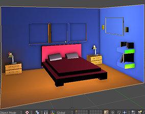 Minik oda 3D model