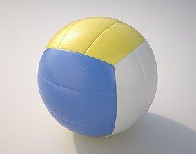 Volleyball 3D model PBR