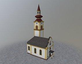 Innsbruck Katholische Kirche 3D model