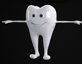 Tooth rigged 3D