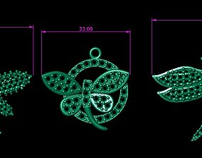 DRAGONFLY NECKLACES 3D print model