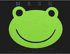 3D asset Frog Coaster