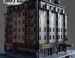 3D model San Francisco Hotel