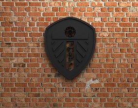 3D print model Leeds United Logo