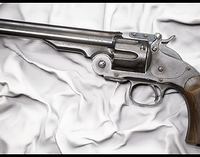 Schofield Revolver 3D model