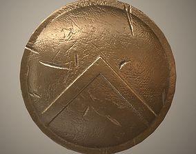 Spartan shield 3D asset realtime