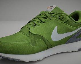 Nike shoe low poly 3D model training-shoe low-poly