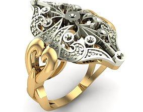 WOMAN RING printable jewelry 3D printable model