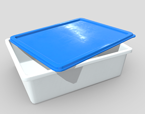 Food Container 3D model low-poly