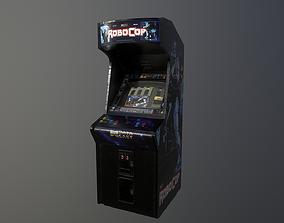 Robocop Arcade Machine 3D asset