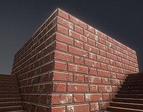 Old Bricks 1 Texture Set 44 3D model
