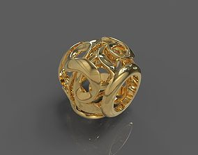 Heart 3D print model pendants