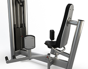 Gym Abductor Machine 3D model