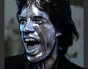 Mick Jagger 3D print model