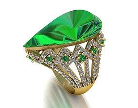 3D printable model 85 Gemstone Ring Designs