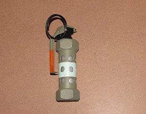 3D printable model M84 grenade