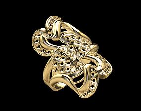 Gold Ring 16 3D printable model