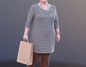 3D asset Barbara 10526 - Walking Best Ager Woman