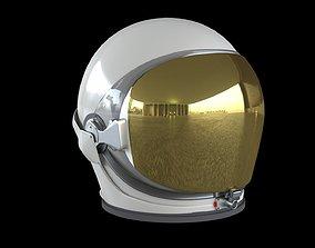3D asset animated Space helmet