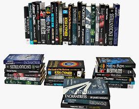 3D model books 01