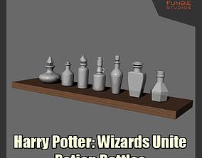 Harry Potter Wizards Unite - Potion Bottles 3D print model