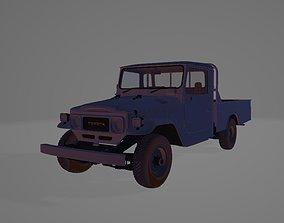 3D model toyota old