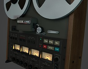 3D TEAC A-3440 4 track Reel to Reel