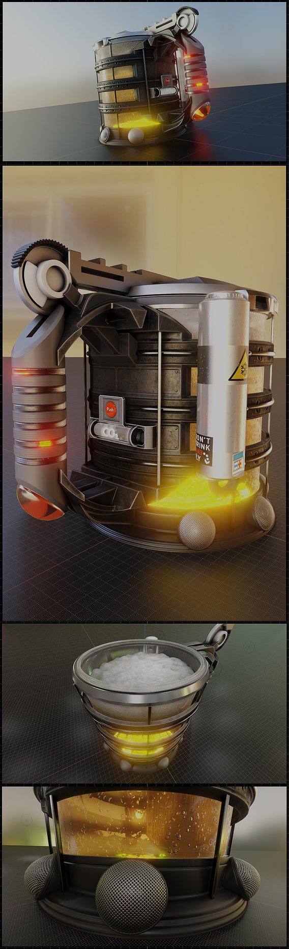 The Infinite Beer Mug From The Future (Wip-76)