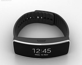 Samsung Gear Fit Black 3D