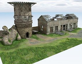 Abandoned Tower2 3D model